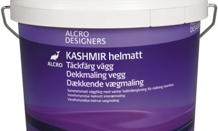 Ny väggfärg från Alcro