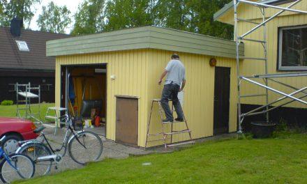 Hjälp! Vi skall måla huset