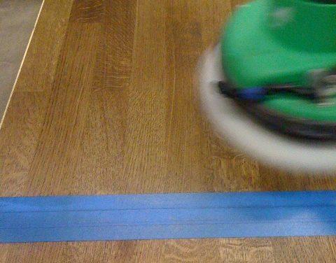 Olja golv med OSMO Hårdvaxolja