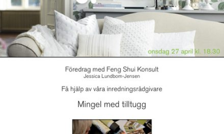 Inspiration och Fengshui- kväll på Colorama Åmål