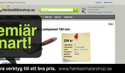 Henkes målarshop – snart i en webbläsare nära dig …..